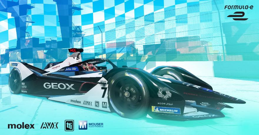 贸泽赞助的电动方程式赛车队全力备赛为期9天的柏林...