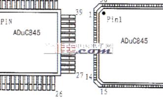 ADuC845的性能特点、引脚功能和应用分析