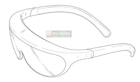 三星申请专利:形似眼镜的头戴式设备,或用于AR眼...