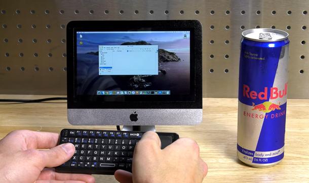 国外大神利用树莓派和3D打印打造成迷你Mac