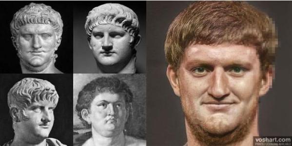 """设计师借助AI和PS对罗马雕像""""赋予生命"""""""