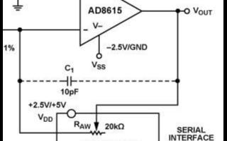 低成本可变增益反相放大器的电路设计与实现