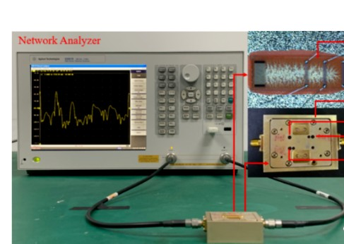 利用光刻技术研制400MHz单端口声表面波谐振器