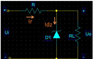 稳压管稳压电路及原理解析