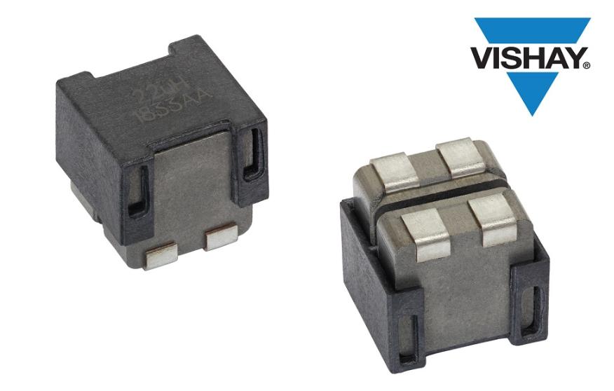 Vishay推出新型汽车级2525外形双电感器——IHLD-2525GG-5A
