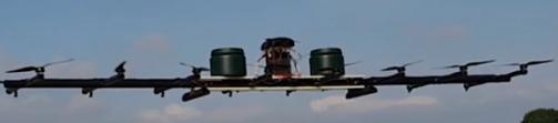 """利用""""增程式""""電動多旋翼無人機解決電池續航能力限制問題"""