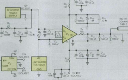 使用AD620仪表放大器来实现扩展DSO功能