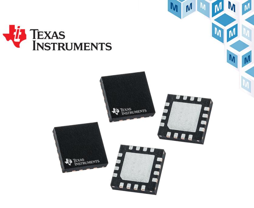 贸泽推出Texas Instruments简单易...