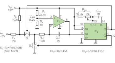 采用电压-时间转换方法改善A/D转换的线性度