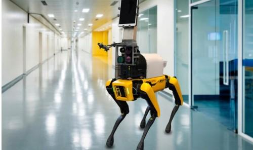 Spot機器人能測量升高的皮膚溫度和呼吸頻率?