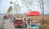 我国四轮低速纯电动车在农村市场迅速发展,全国保有...