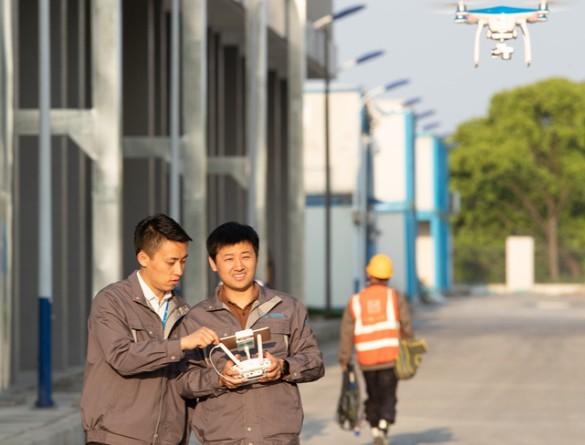 中国移动成功实现基于5G无人机360度全景4K高...