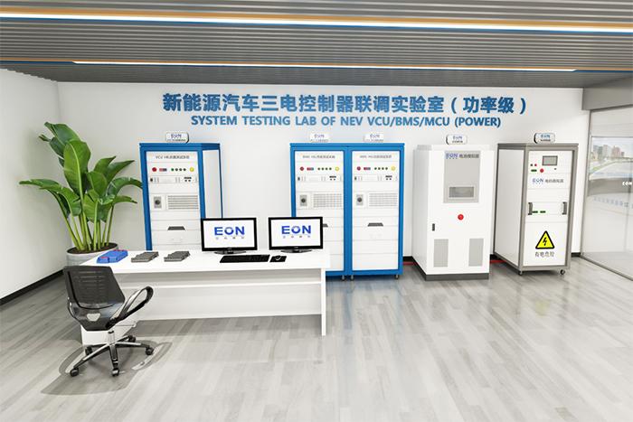三電控制器功率級聯合仿真測試