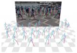 基于深度的关键点匹配算法实现单步多人绝对三维姿态