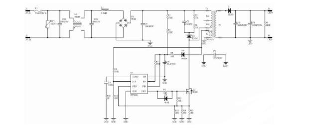 一套完整的小功率恒流LED驅動電源設計制作