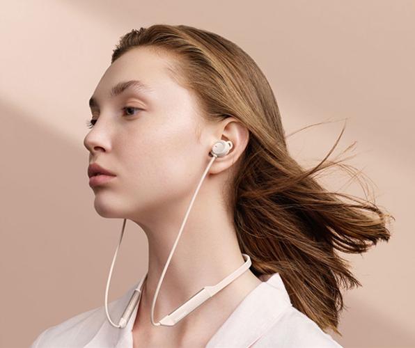 华为上线新款颈挂式降�噪耳机,已获全国首个降噪A级认证