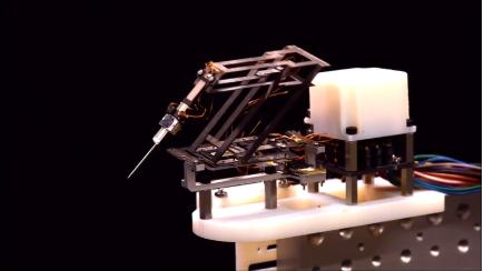 """哈佛大學團隊創造一種新的微型運動中心遙控機械手——""""mini-RCM"""""""
