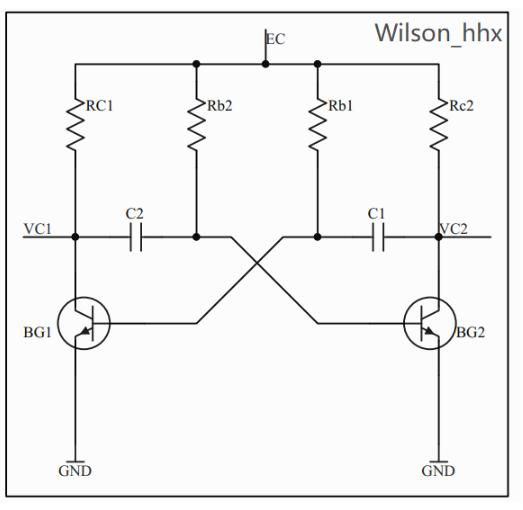 基于NE555P芯片的555多谐振荡器的LED闪烁电路