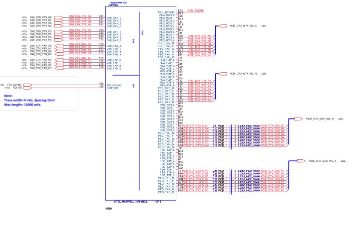 联想G510 LA-9641P主板的电路原理图合集免费下载
