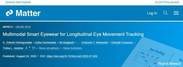 <strong>可追踪眼球活动和心脏数据的智能</strong>