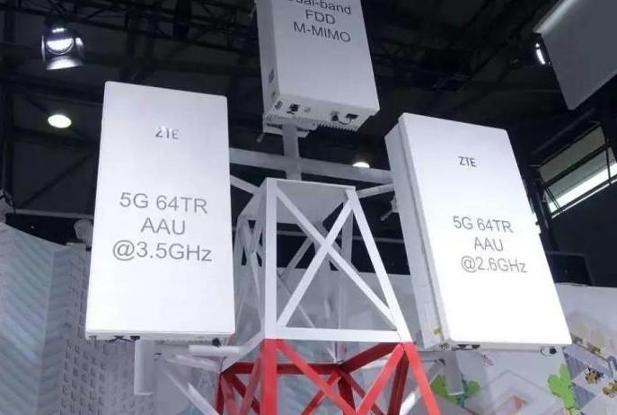 5G 天线中的一部分多流传输是通过天线的多通道实...