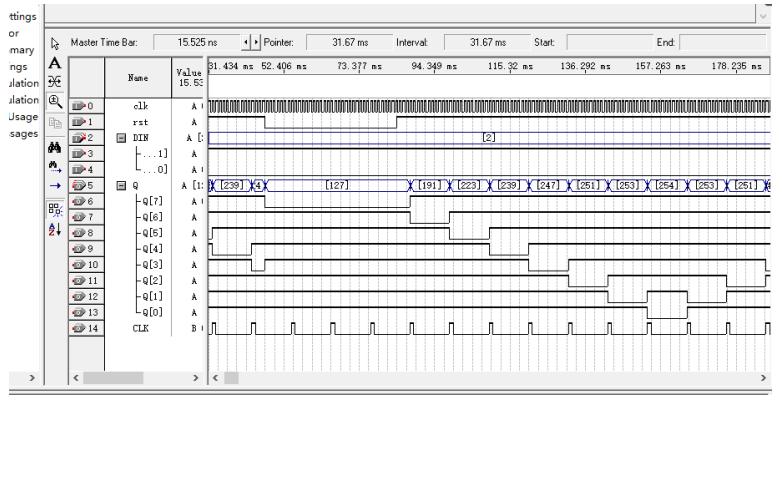 使用FPGA和verilog语言设计跑马灯控制器的论文说明