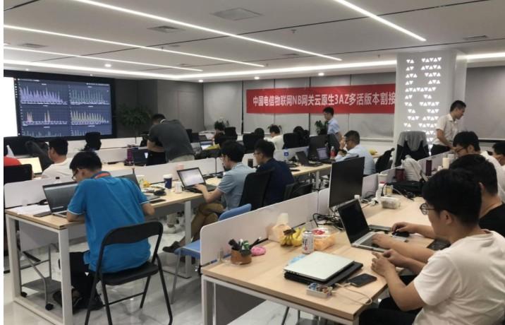 """基于中国电信天翼云原生PaaS服务能力,确保用户业务""""零""""损失"""