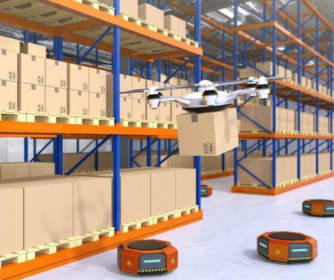 Aertos120-UVC無人機可以穩定地在建筑物內飛行,并能損傷病毒