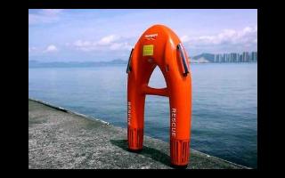 救生机器人海豚1号投入使用