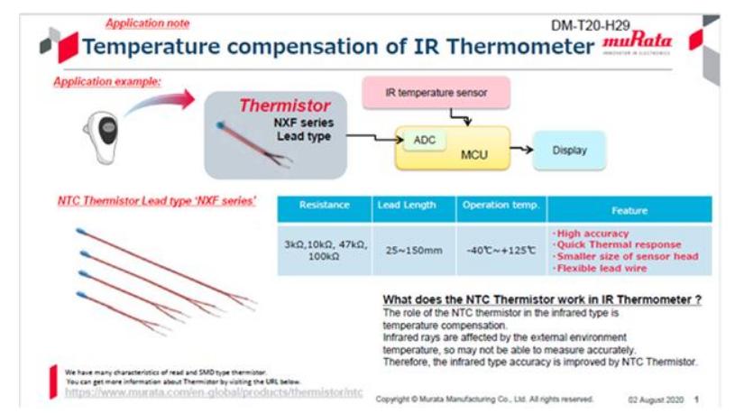 NTC熱敏電阻與RFID產品促進醫療應用的發展
