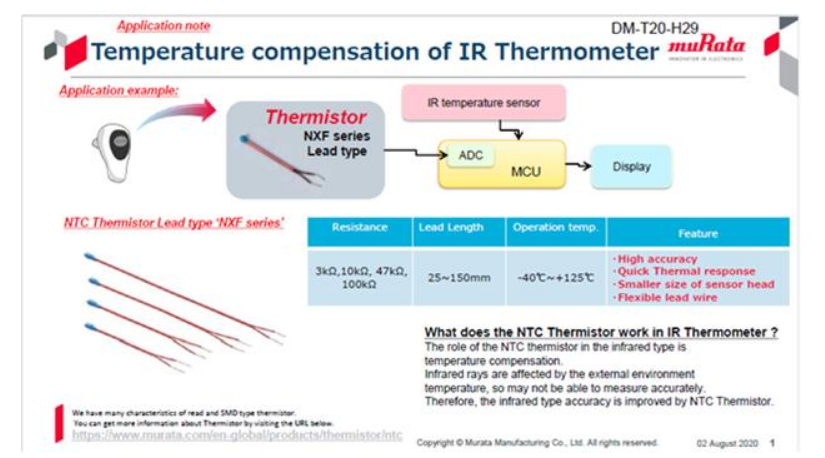 NTC热敏电阻与RFID产品促进医疗应用的发展