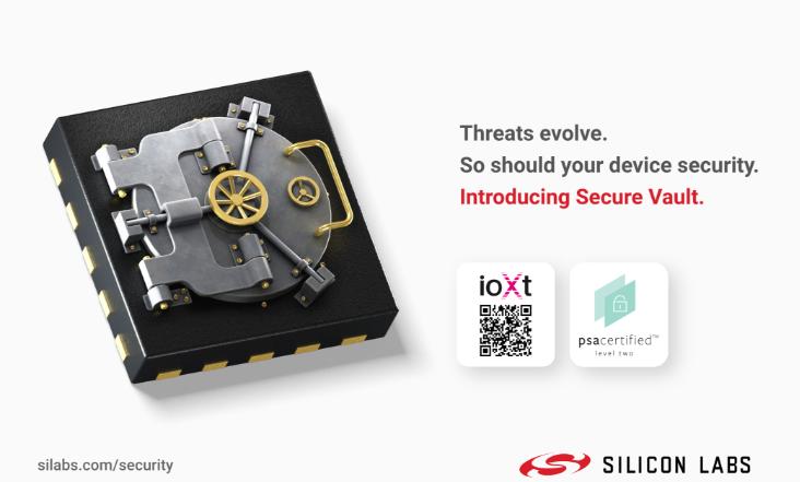 Silicon Labs提升物联网设备安全性以战胜不断演变的威胁