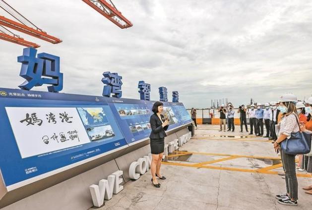 妈湾智慧港实现了可快速复制推广的智慧港口解决方案