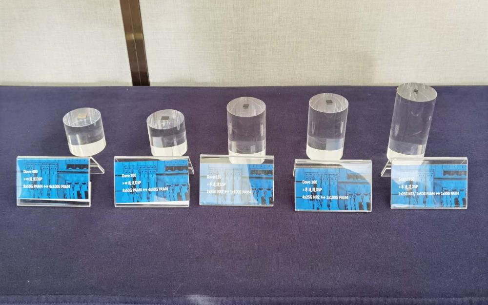 Credo推出5款低功耗光通信DSP芯片,助力5G基站和数据中心建设降低成本