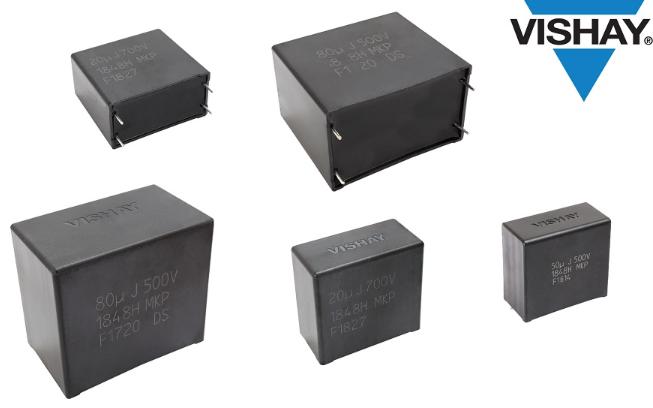 Vishay推出汽车级DC-Link金属化聚丙烯...