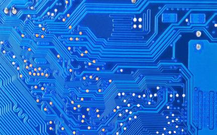 电脑电源的风扇温控电路PCB实物图免费下载