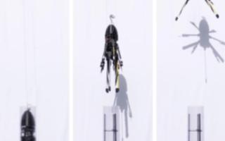弹道发射六旋翼飞行器无需固定起飞坪,可进行发射展...