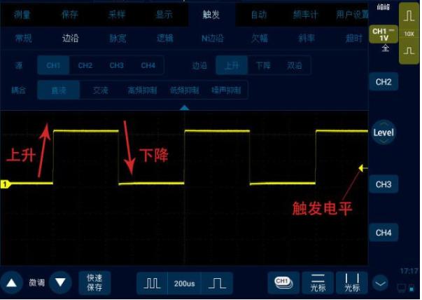 示波器常見的觸發方式有哪些
