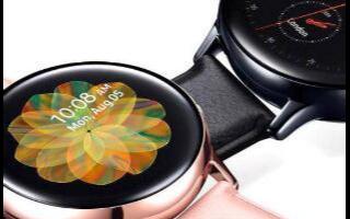 三星宣布了一項新的Galaxy Watch Active 2入站更新