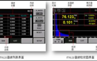 艾德克斯IT9121功率表进行家电产品的谐波测量和功耗测量