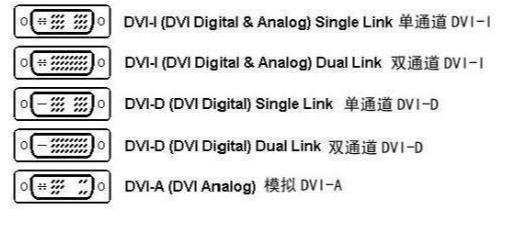 DVI-D和DVI-I接口是否可以通用?