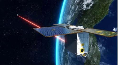 星间激光通信实现了国内卫星物联网星座激光通信零的...