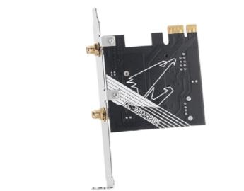 威联通推新款PCIe无线扩展卡,Wi-Fi最大速...