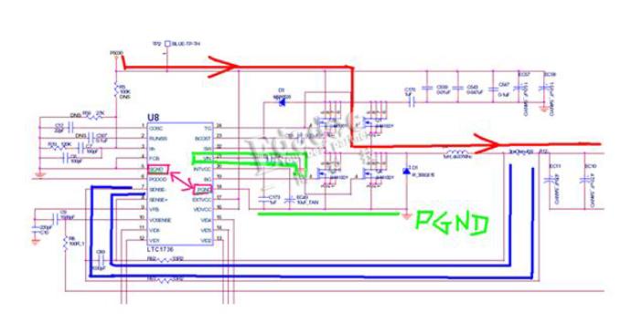 开关电源PCB布线原理图分析