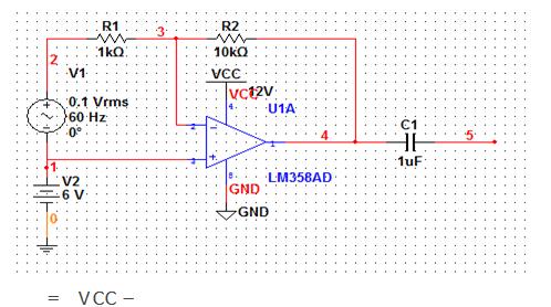 单电源运放为什么添加偏置电压