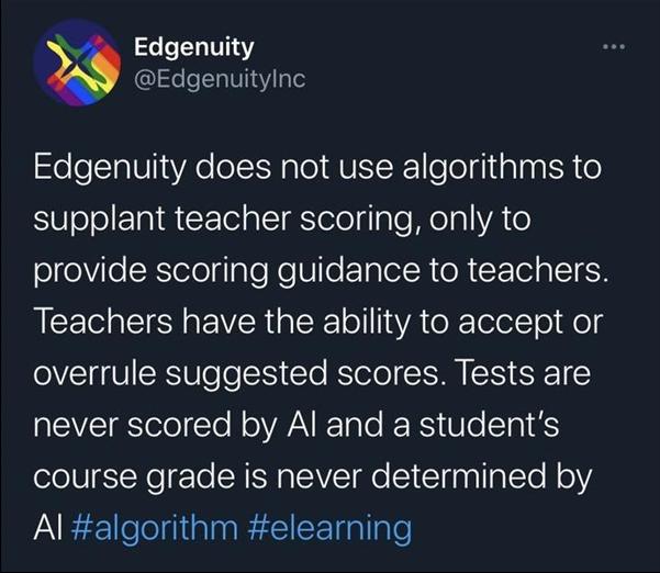 美國學校的AI閱卷系統存在重大漏洞,學渣逆襲學霸...