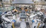 沃爾沃全球統一標準的現代化焊裝車間,使用了200...