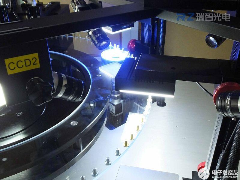 利用机器视觉检测技术来对产品尺寸进行检测