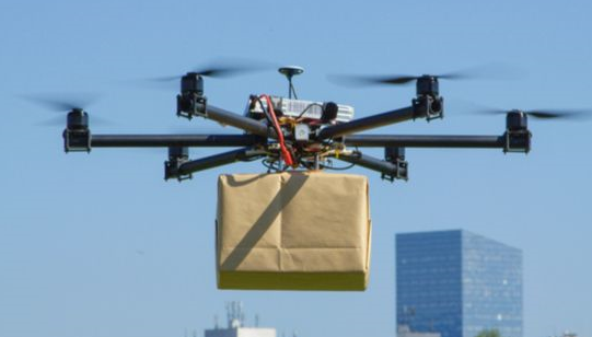亚马逊一项试验计划开始对商业交付的无人机进行测试
