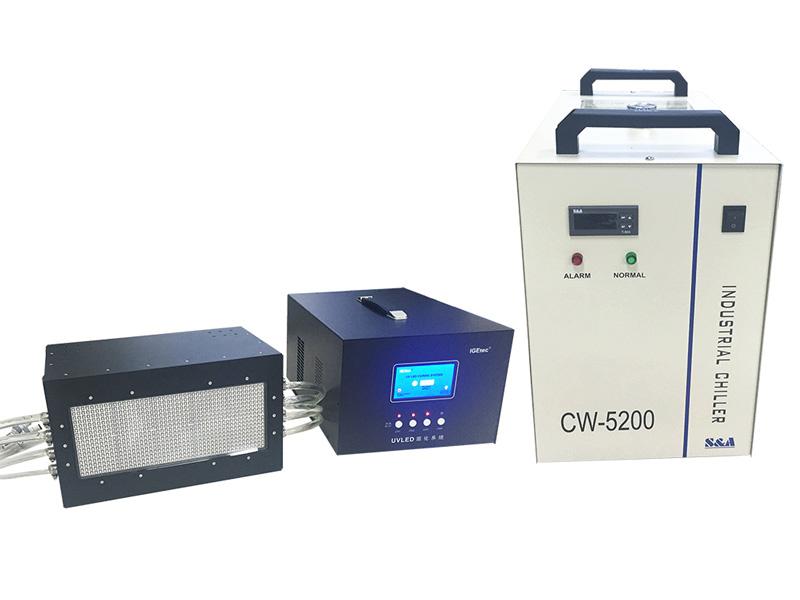 如何选择丝印UV油墨固化机,一个实际案例的参考